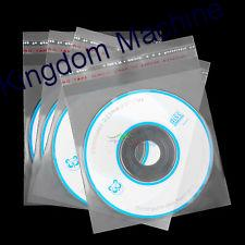 BOPP Bag CD Packaging With Adhesive Sealed